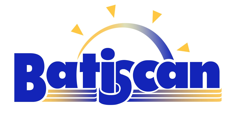Logo Batiscan vectorisé